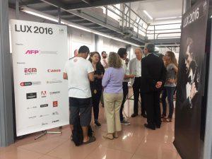 inauguración exposición lux 2016 barcelona